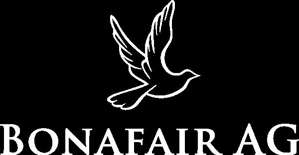 Bonafair Logo weiß